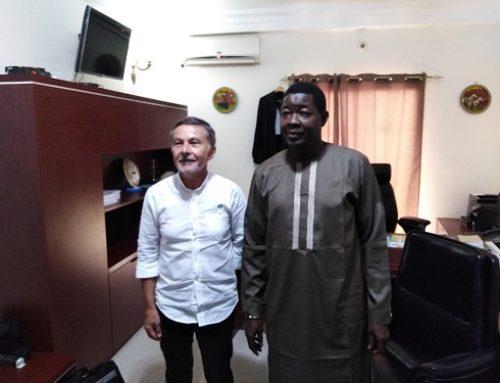 Visite du Président du Tribunal de Commerce de DOUAI