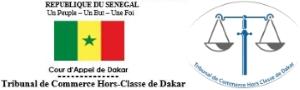 Tribunal de Commerce Hors Classe de Dakar Logo